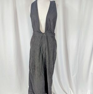 Blush BJ Brown Corduroy Overall Jumpsuit